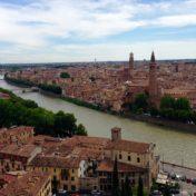 View of Verona from Ponte Pietra