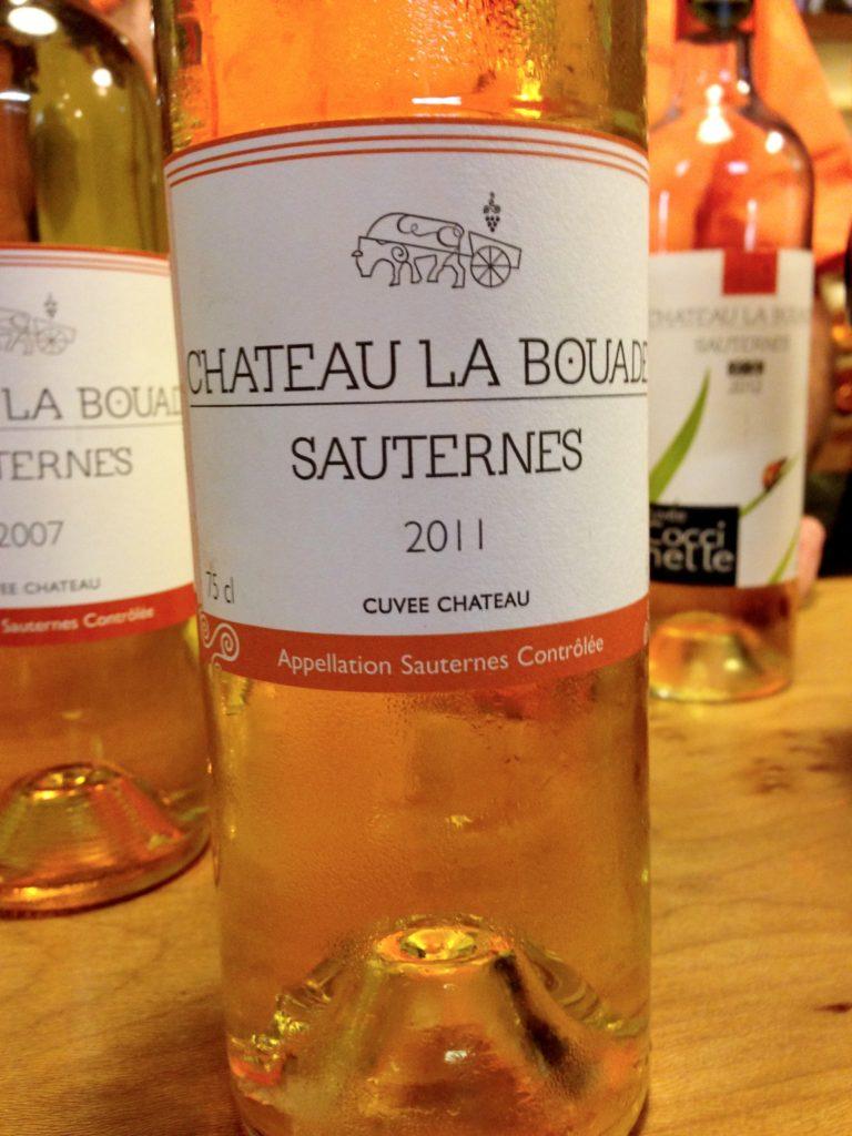 Chateau La Bouade Sauternes