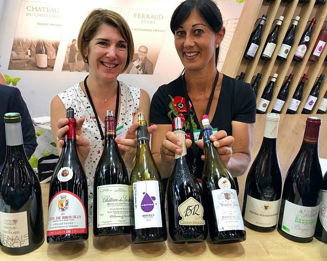 Beauojolais wine at Vinexpo Bordeaux 2017
