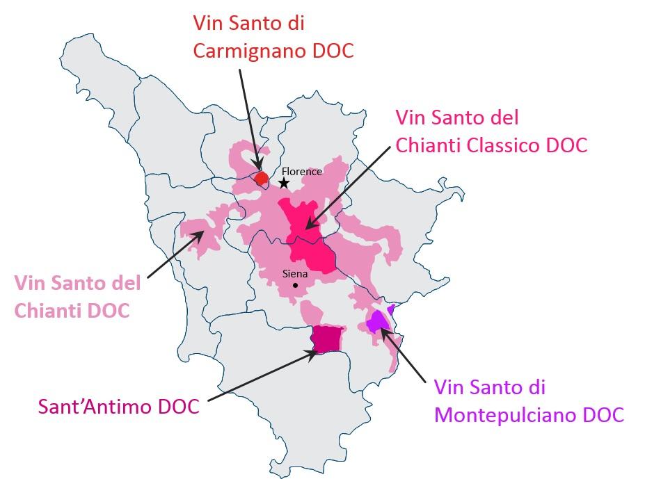 Vin Santo DOC Tuscany